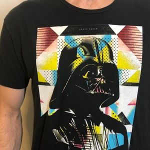 STAR WARS Darth Vader Mens Graphic T-Shirt XL